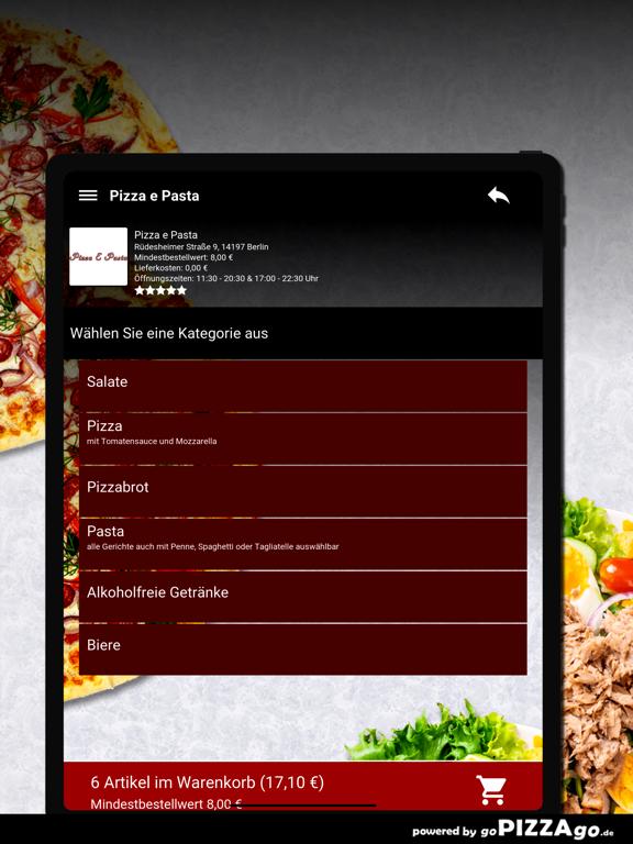 Pizza e Pasta Berlin screenshot 8