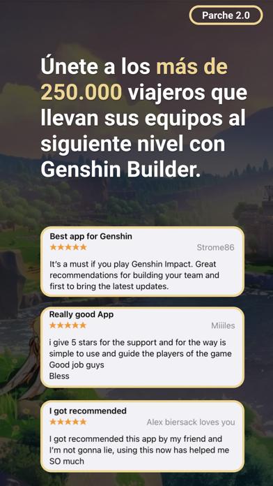 Genshin BuilderCaptura de pantalla de1