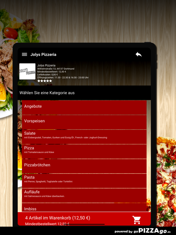 Jolys Pizzeria Dortmund screenshot 8