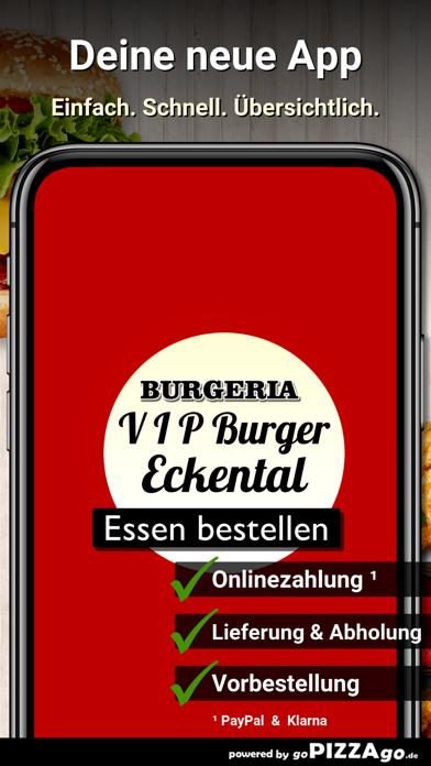V I P Burger Eckental screenshot 1