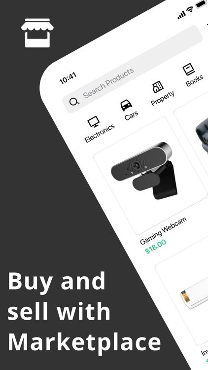 Buy and sell - Marketplace
