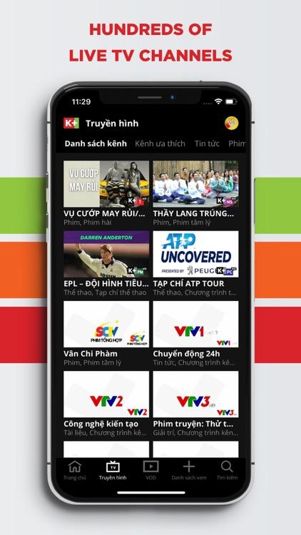 K+ Live TV & VOD screenshot-3