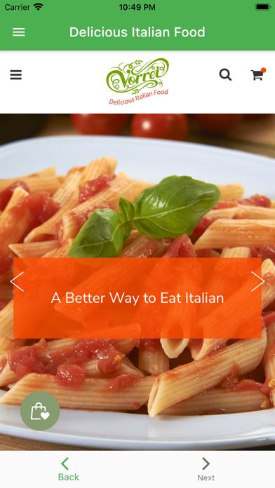 Vorrei |Delicious Italian Food紹介画像1