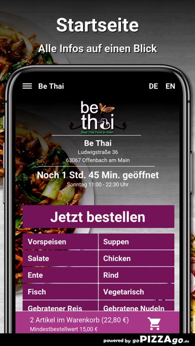 Be Thai Offenbach am Main screenshot 2