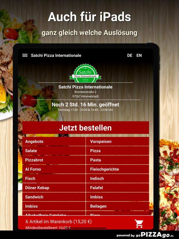Satchi Pizza Himmelstadt screenshot 7