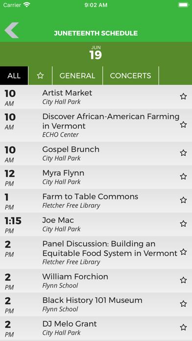 Burlington City Arts Events screenshot 3