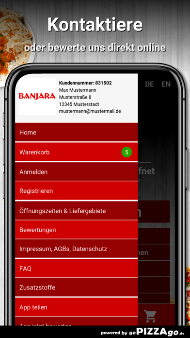 Banjara Frankfurt am Main screenshot 3