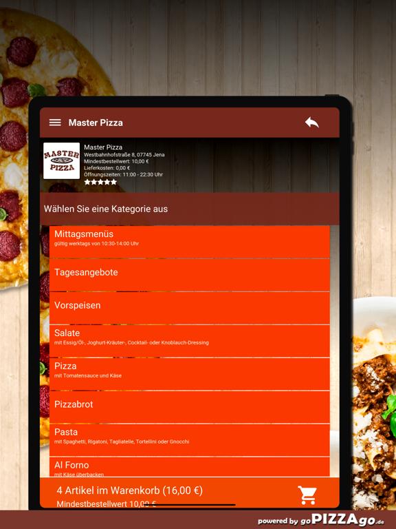 Master Pizza Jena screenshot 8