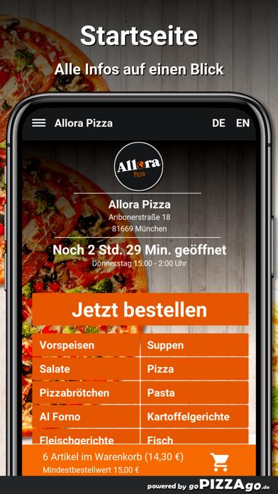 Allora Pizza München screenshot 3