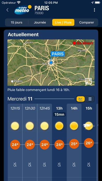 Screenshot #2 pour La Chaîne Météo