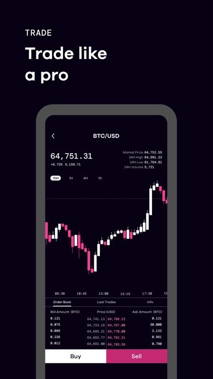 Okcoin - Buy Bitcoin & Crypto screenshot-3