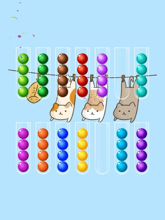 Ball Sort Puzzle iPad app afbeelding 4