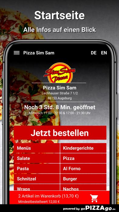 Pizza Sim Sam Augsburg screenshot 2