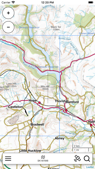 Peak District Map Pro screenshot 3