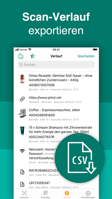 QR Code & Barcode ScannerScreenshot von 6