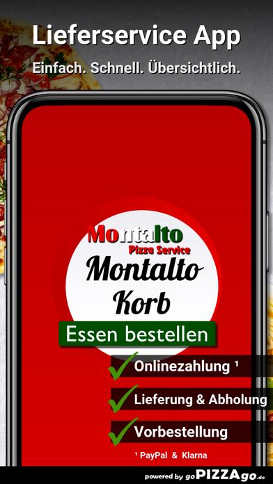 Montalto Pizza Service Korb screenshot 1