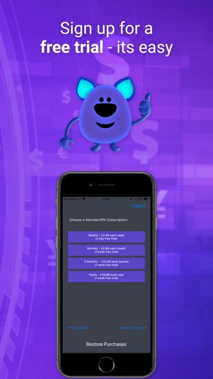 Monster VPN - No Logs UK Best screenshot-3