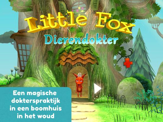 Little Fox Dierendokter 3D iPad app afbeelding 1