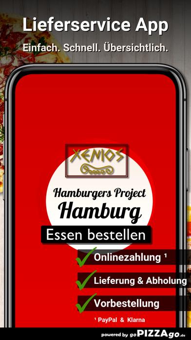 Hamburgers Project Hamburg screenshot 1