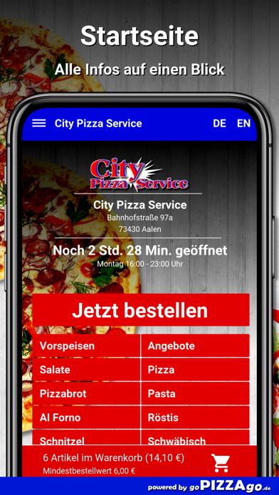 City Pizza Service Aalen screenshot 2