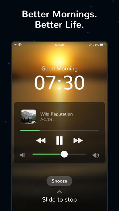 Morning™ Spotifyの目覚まし時計: 時計のおすすめ画像7