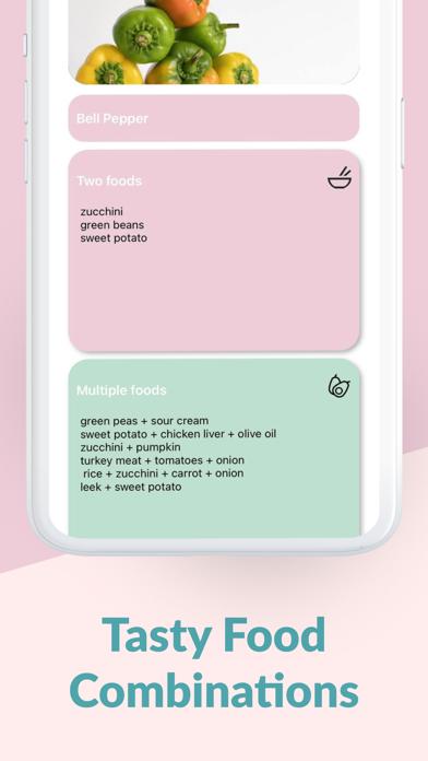 Baby Solids Food Tracker PRO screenshot 3