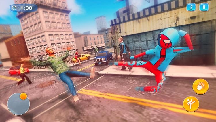 Spider Stickman - Rope Hero 3D