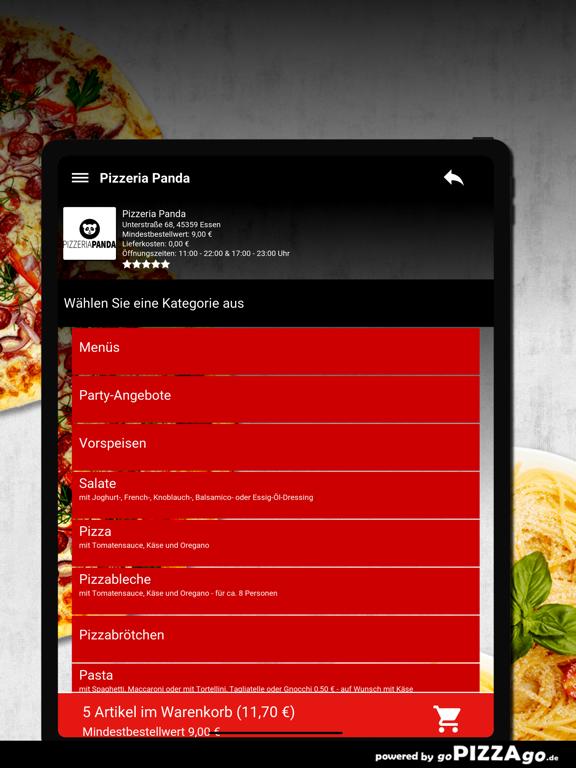 Pizzeria Panda Essen screenshot 8