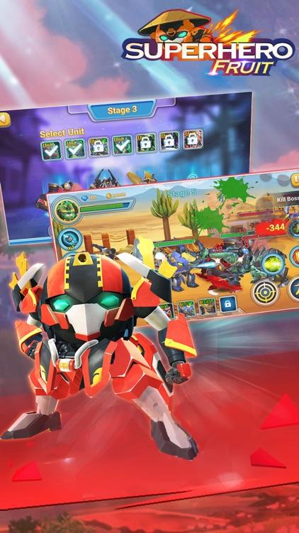 Superhero Fruit: Robot War