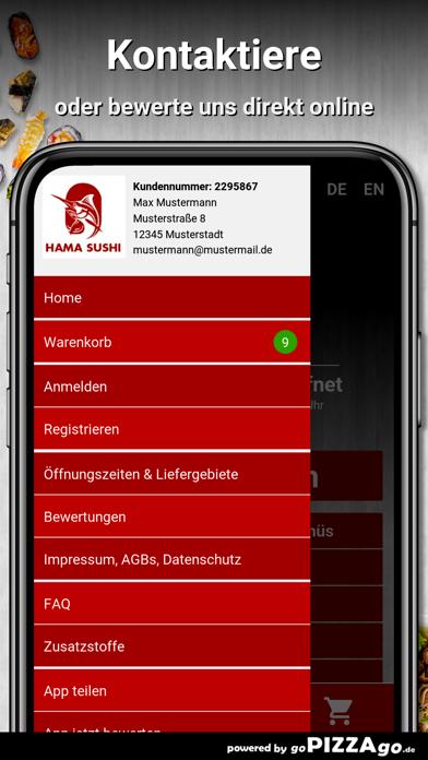 Hama Sushi Frankfurt am Main screenshot 3