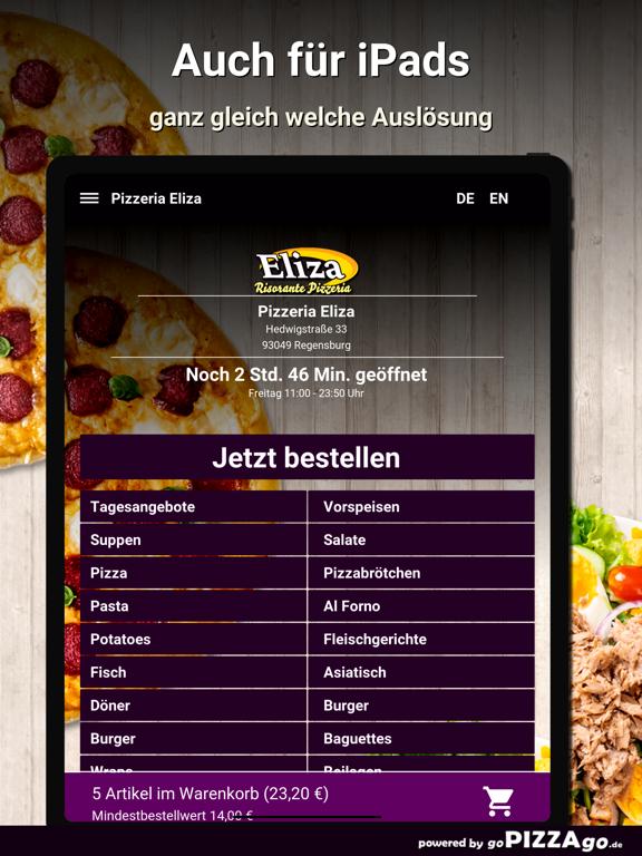 Pizzeria Eliza Regensburg screenshot 7