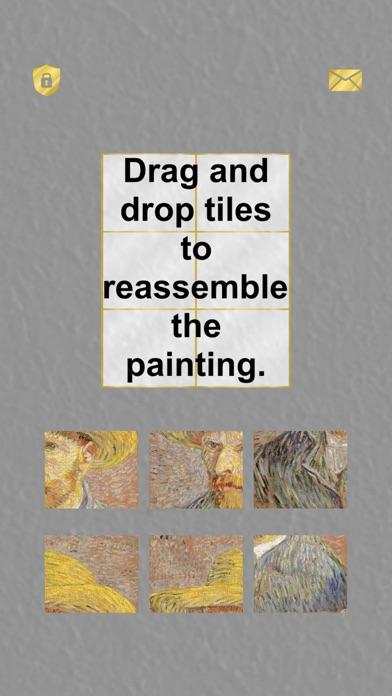 Paintings: Tiling Puzzles screenshot 1
