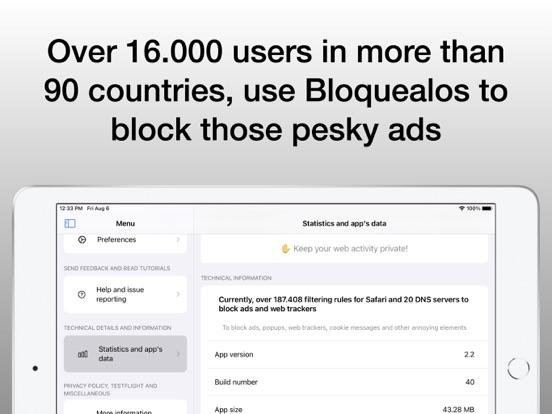 Bloquealos:ポップアップをブロックするのおすすめ画像3