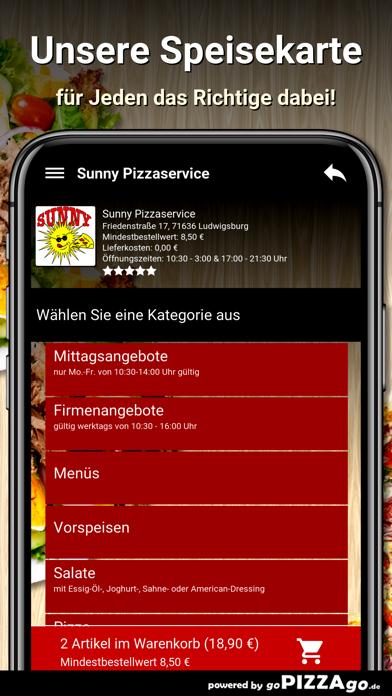 Sunny Pizzaservice Ludwigsburg screenshot 4