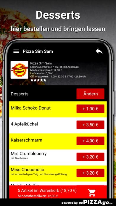 Pizza Sim Sam Augsburg screenshot 6