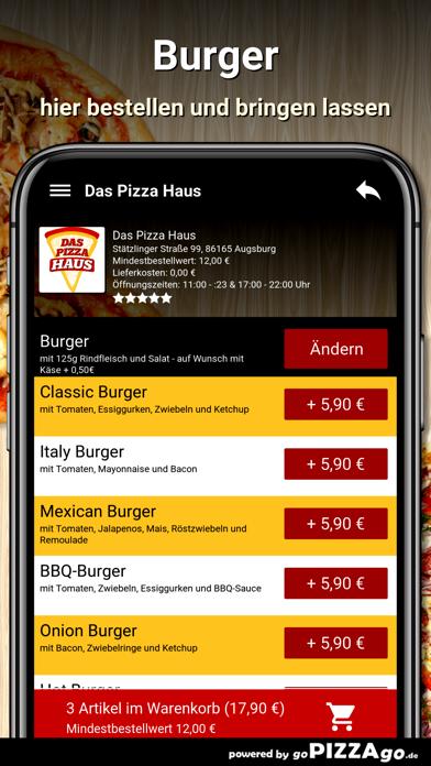 Das Pizza Haus Augsburg screenshot 6
