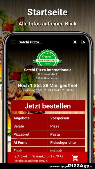 Satchi Pizza Himmelstadt screenshot 2