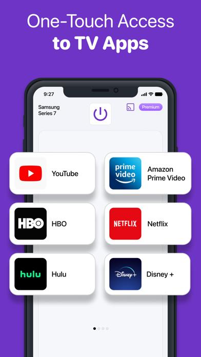 Universal Remote - TV Control iPhone app afbeelding 5