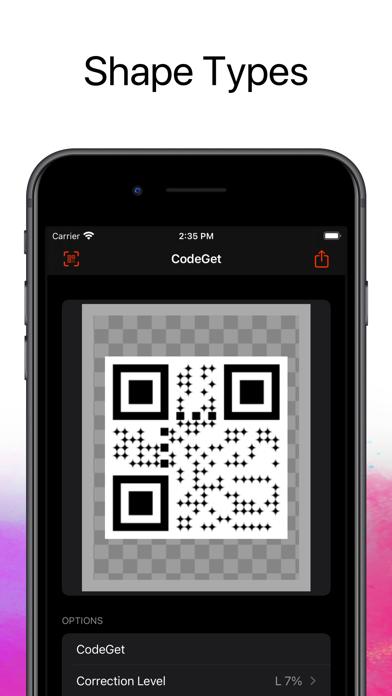 CodeGet Qr Code Generator screenshot 2