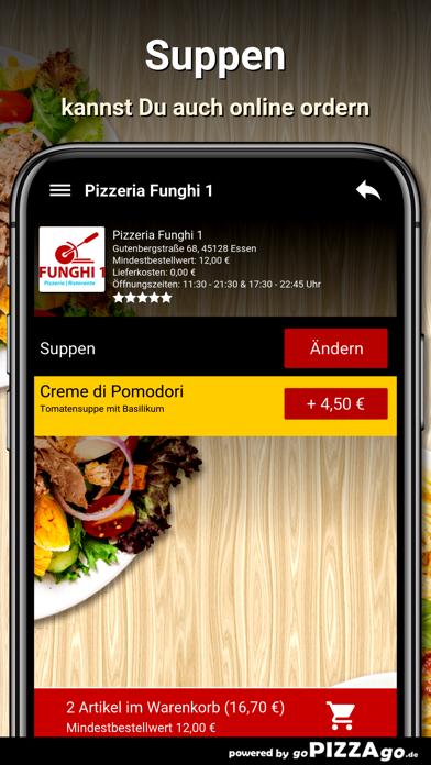 Pizzeria Funghi 1 Essen screenshot 5