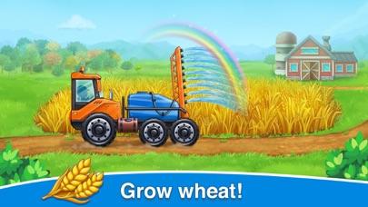 ファームゲームトラクターの収穫紹介画像3