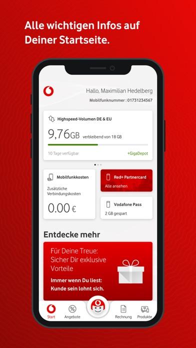 MeinVodafoneScreenshot von 2