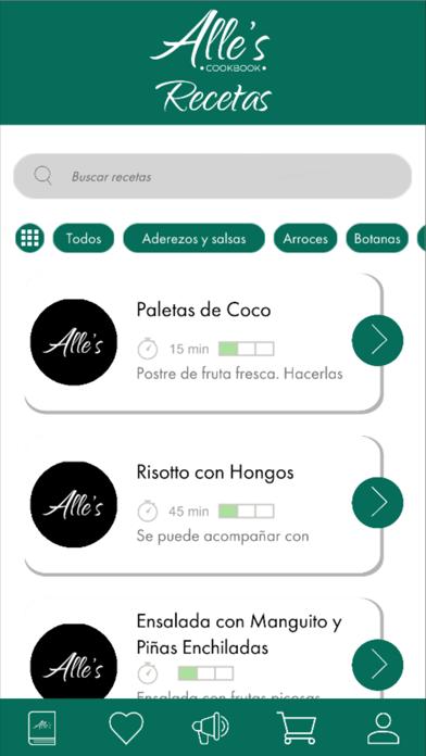 Recetario - Alle's Cookbook screenshot 2