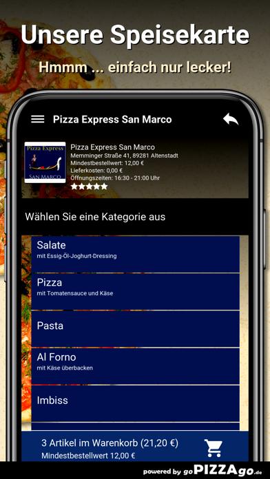 Pizza Express San Marco Altens screenshot 4
