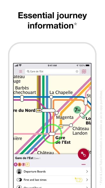 Paris Metro Map and Routes screenshot-3