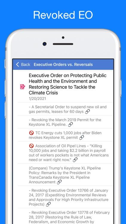 Trump Tracker: News & Politics screenshot-6