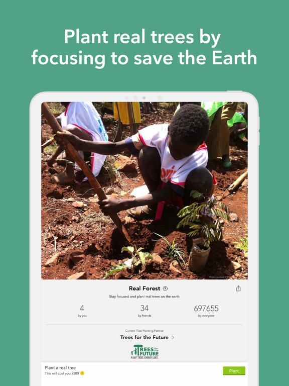 Forest - Your Focus Motivation iPad app afbeelding 8