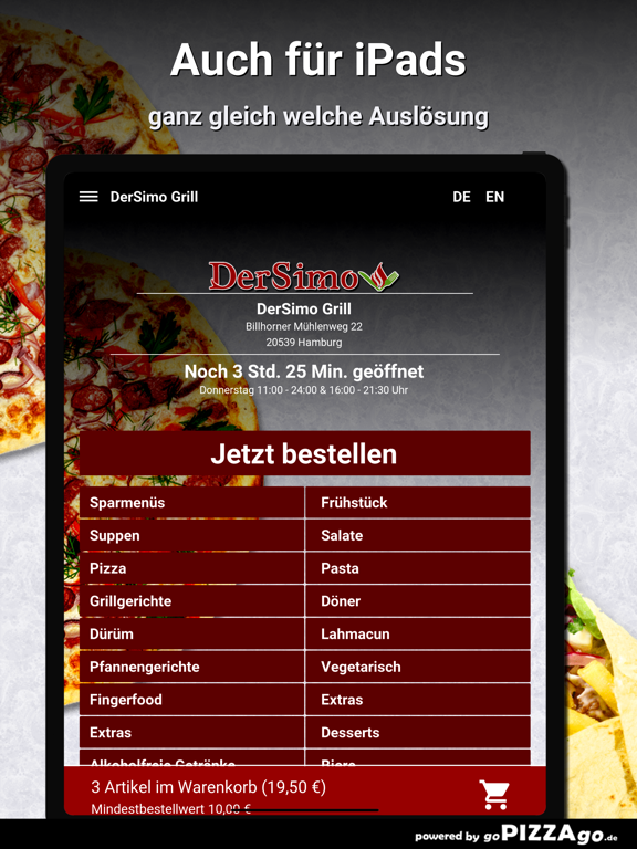 DerSimo Grill Hamburg screenshot 7