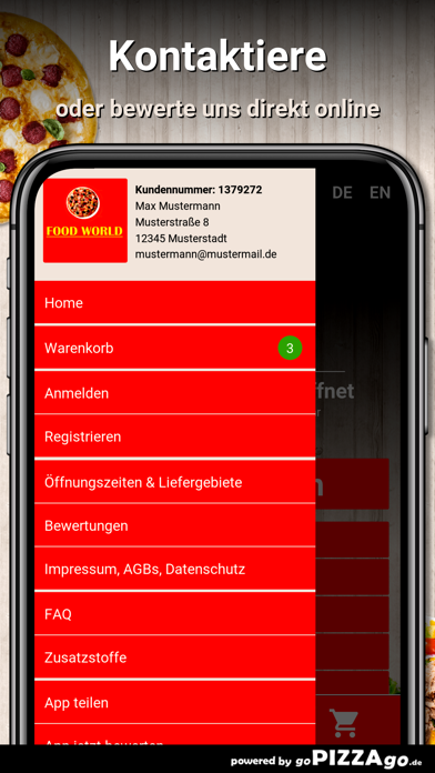 Food World Offenbach screenshot 3