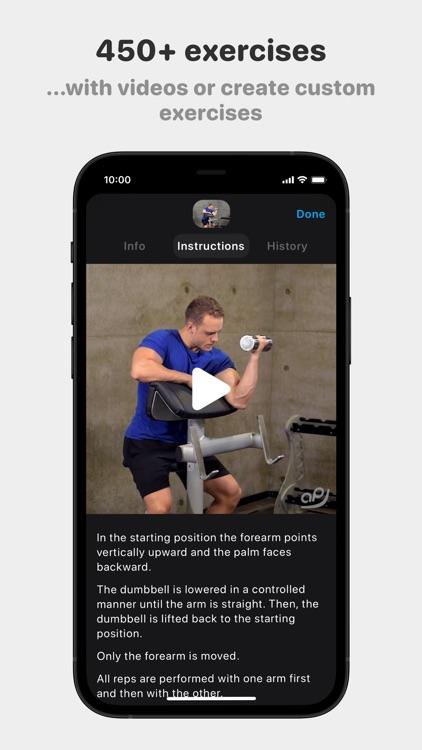Alpha Progression - Gym Logger screenshot-6